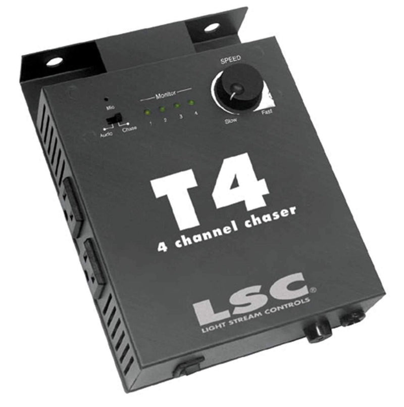 ADJ American DJ T4 4 Channel Chase Light Controller - PSSL ProSound and Stage Lighting