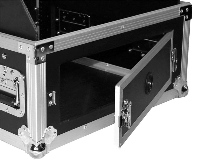 ProX T-6MRLT 6Ux10U Mixer Combo Amp Rack Case - PSSL ProSound and Stage Lighting