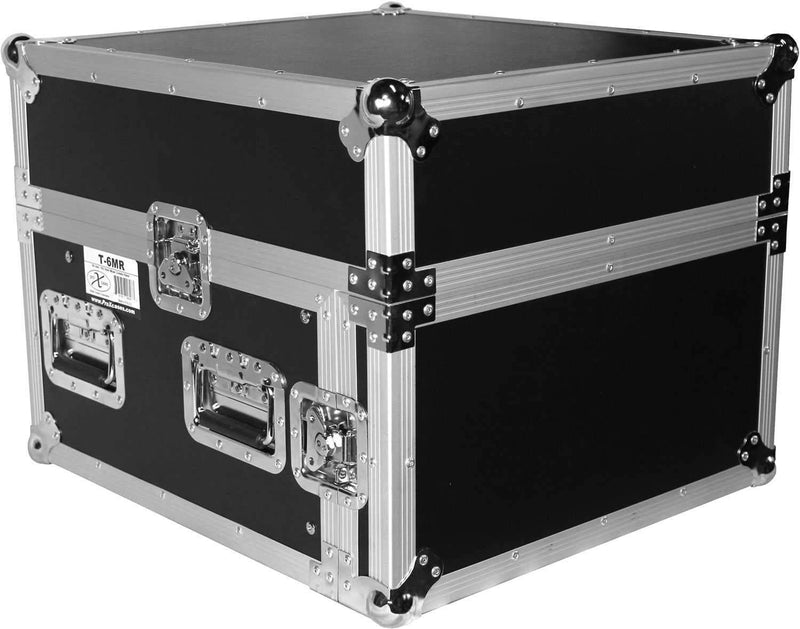 ProX T-6MRSS 6Ux10U Mixer Combo Amp Rack Case - PSSL ProSound and Stage Lighting