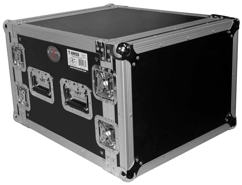 ProX T-8RSS 8U Amp Rack Mount ATA Flight Case - PSSL ProSound and Stage Lighting