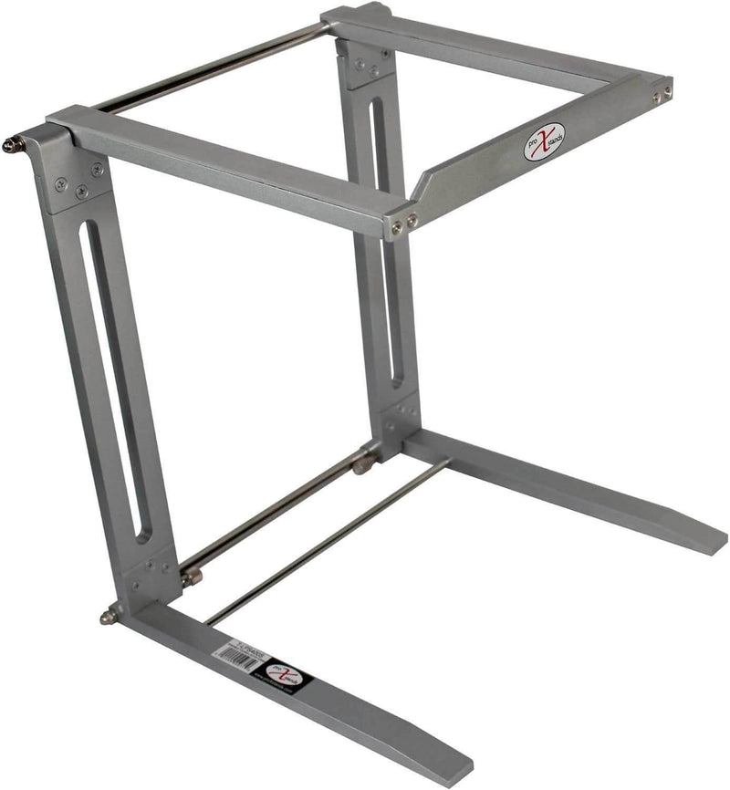 ProX T-LPS400S Portable Laptop Stand - Silver - PSSL ProSound and Stage Lighting