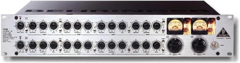 Behringer Tube Ultra Q Stereo Parametric EQ - PSSL ProSound and Stage Lighting