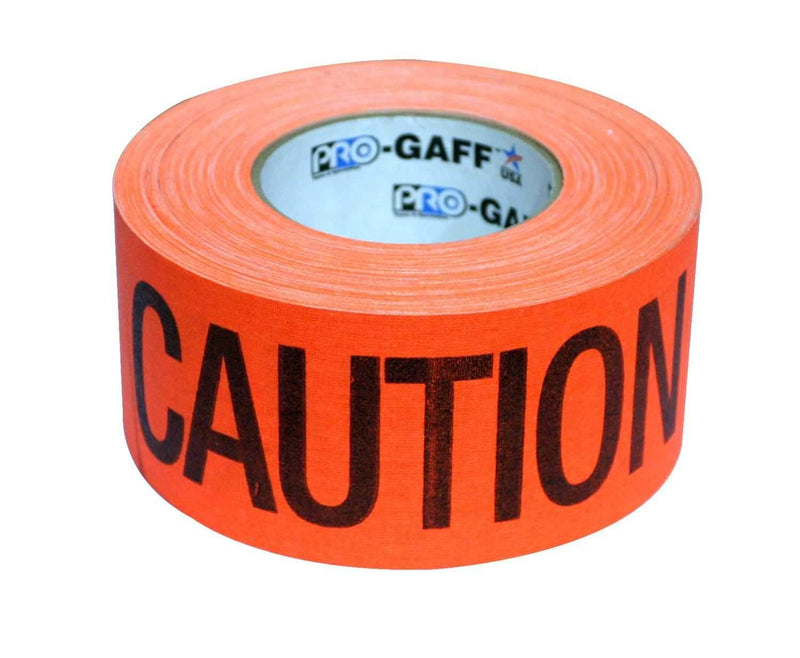 PRO Orange Caution Cable Path Safety Tape 2 In x 55 Yds - PSSL ProSound and Stage Lighting