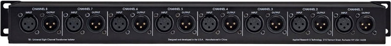ART T8 8-Channel Transformer Isolator - PSSL ProSound and Stage Lighting