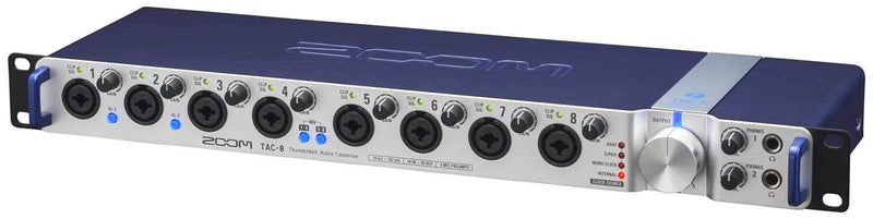 Zoom TAC-8 8-Ch Thunderbolt Audio Interface - PSSL ProSound and Stage Lighting