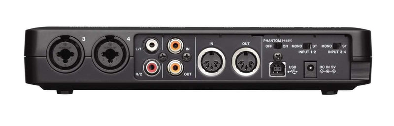 Tascam US600 USB Audio / Midi Interface - PSSL ProSound and Stage Lighting