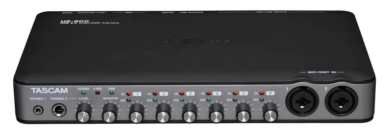 Tascam US-800 Portable 8 CH USB Audio Interface - PSSL ProSound and Stage Lighting