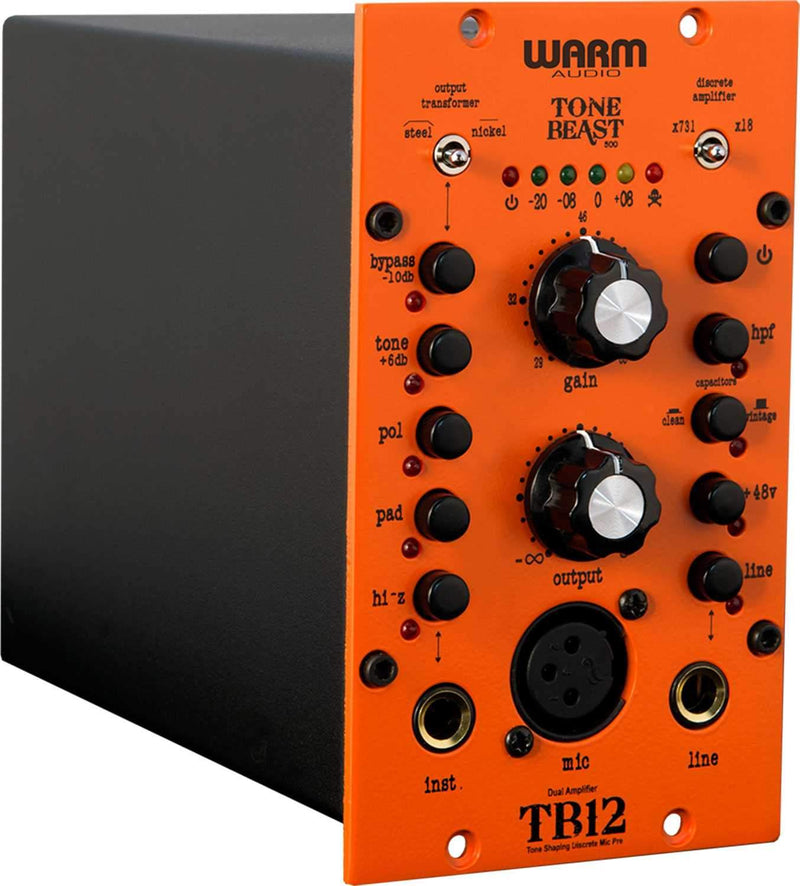 Warm Audio TB12-500 Mic Preamp/DI - PSSL ProSound and Stage Lighting