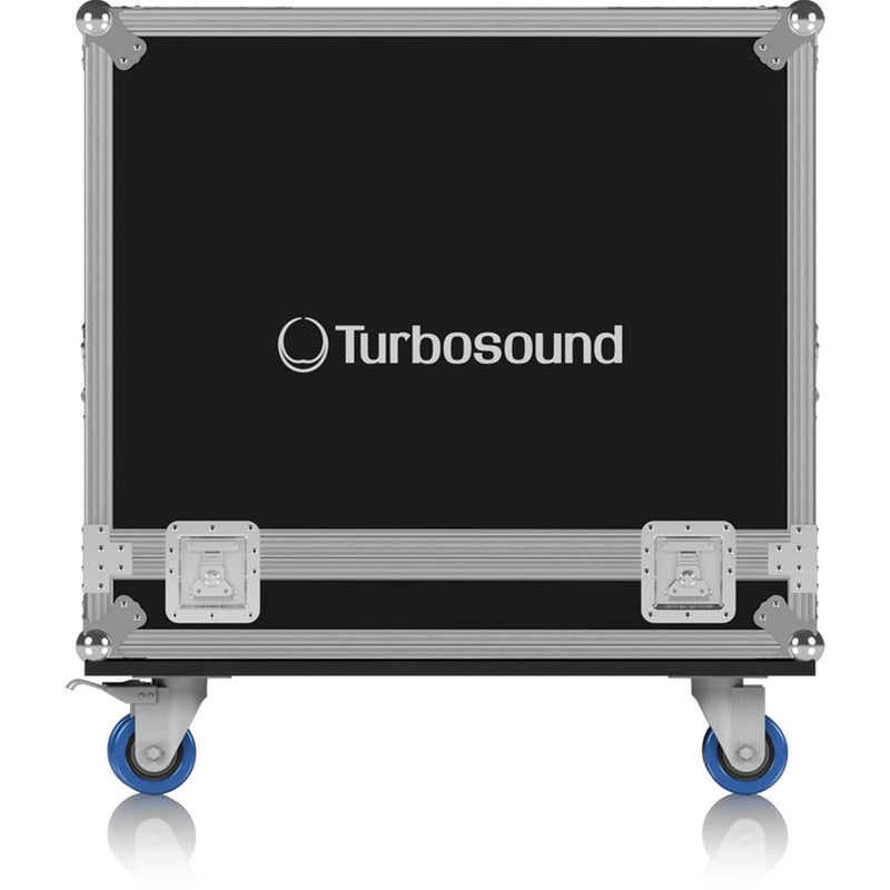 Turbosound TBV123 (2) Speaker Road Case with Wheels - PSSL ProSound and Stage Lighting