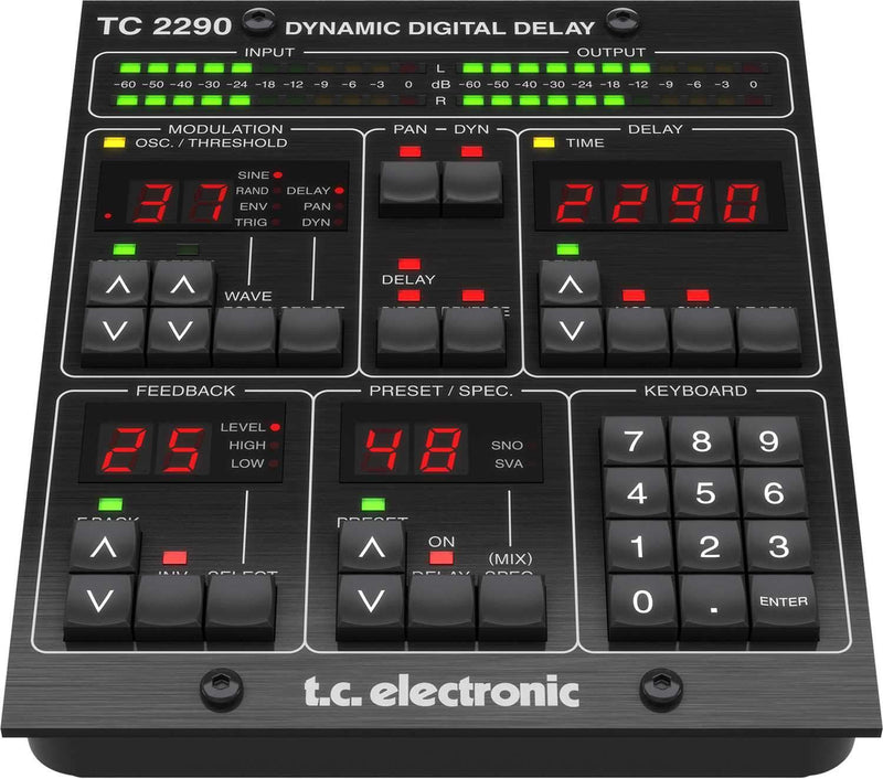 TC Electronic TC2290-DT Delay Plug-in with Dedicated Controller - PSSL ProSound and Stage Lighting