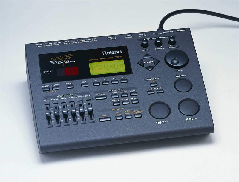 Roland V-Drums Percussion Sound Module with Sequencer - PSSL ProSound and Stage Lighting