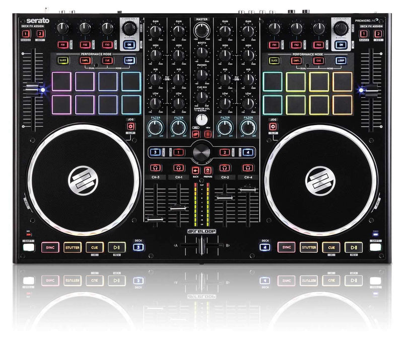 Reloop TM8 Terminal Mix 8 Serato DJ Controller - PSSL ProSound and Stage Lighting