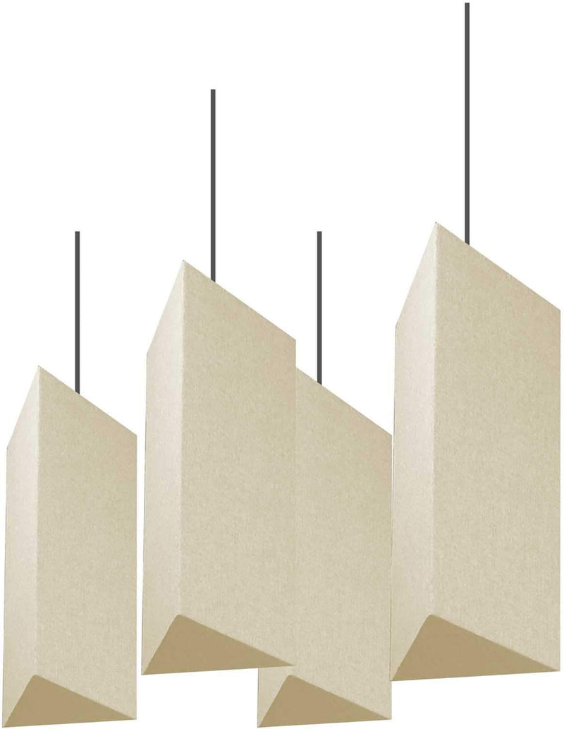 Primacoustic Triangle Hanging Lantern Baffle Beige - PSSL ProSound and Stage Lighting