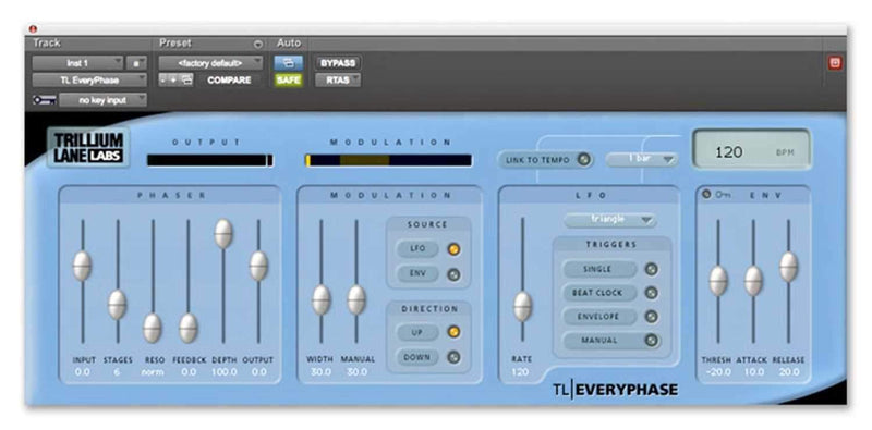 Avid TL-EveryPhase Classic Analog Phaser Plug In - PSSL ProSound and Stage Lighting