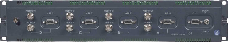 Datavideo TLM404H 4In Quad Lcd Screen Monitor - PSSL ProSound and Stage Lighting