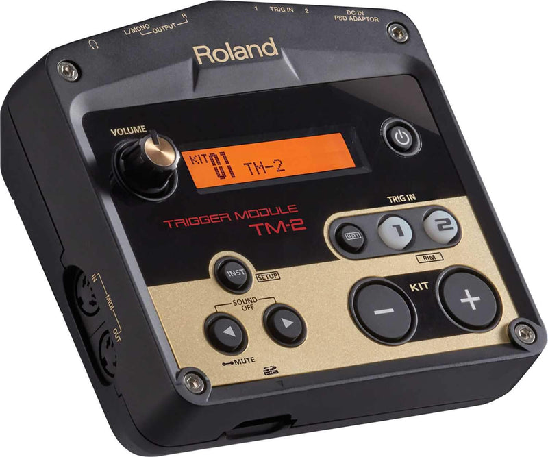 Roland TM-2 Trigger Module for Acoustic Drum Sets - PSSL ProSound and Stage Lighting