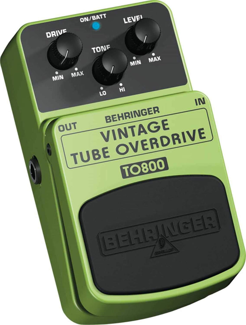 Behringer TO800 Tube-Sound Overdrive FX Pedal - PSSL ProSound and Stage Lighting