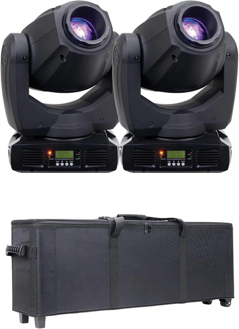 ADJ American DJ Tough Guy Pro Pak with 2 Inno Spot Pros - PSSL ProSound and Stage Lighting