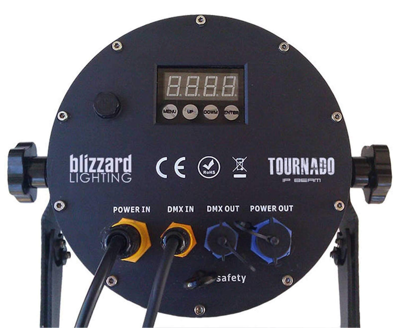 Blizzard TOURnado IP Rated RGBW LED Beam Light - PSSL ProSound and Stage Lighting