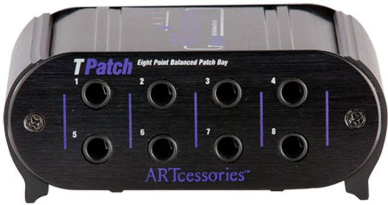 ART TPatch Eight Point Patch Bay - PSSL ProSound and Stage Lighting