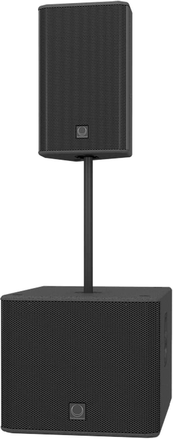 Turbosound TPOLE6020 2x Lightweight Steel Pole - PSSL ProSound and Stage Lighting