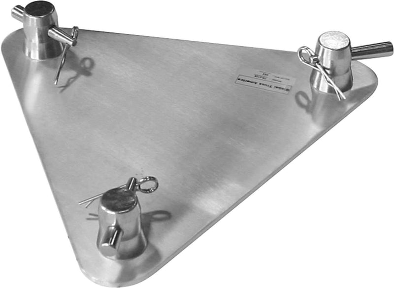 Global Truss TR-4108 1 Ft x 1 Ft Aluminum Base Plate for F33 - PSSL ProSound and Stage Lighting