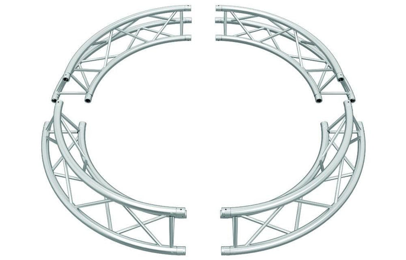 Triangle 12-In Truss F33 4Arc Circle 9.84Ft - PSSL ProSound and Stage Lighting