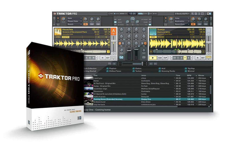 NI TRAKTOR-PRO DJ Software - PSSL ProSound and Stage Lighting