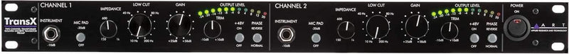 ART TransX 2 Channel Microphone Preamplifier - PSSL ProSound and Stage Lighting