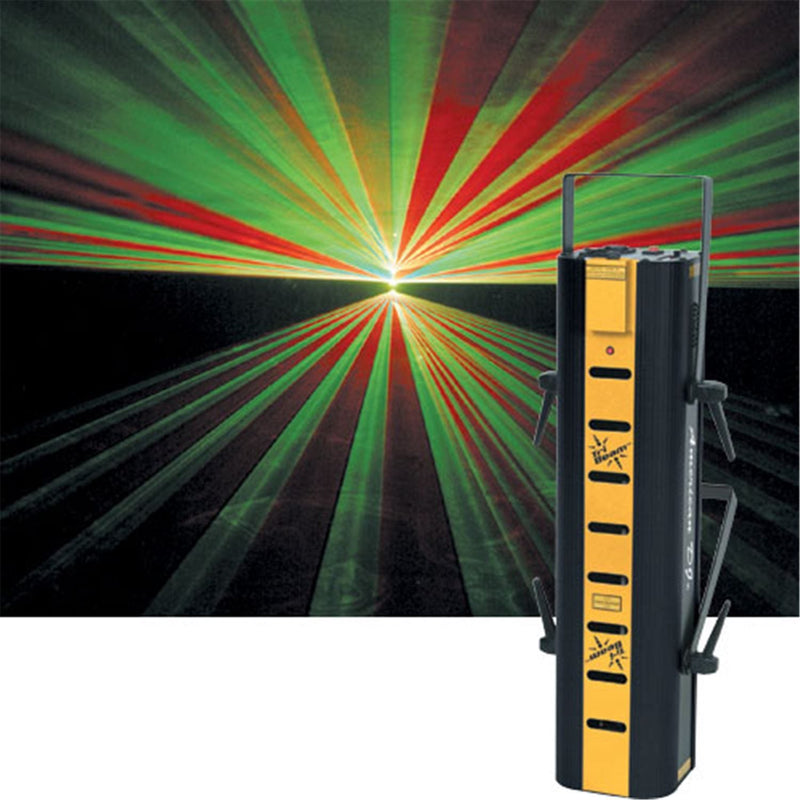 American DJ DMX 3 Color Laser with 8 Beams - PSSL ProSound and Stage Lighting