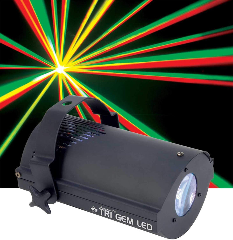 American DJ Tri Gem LED RGB Sound Activated Light - PSSL ProSound and Stage Lighting
