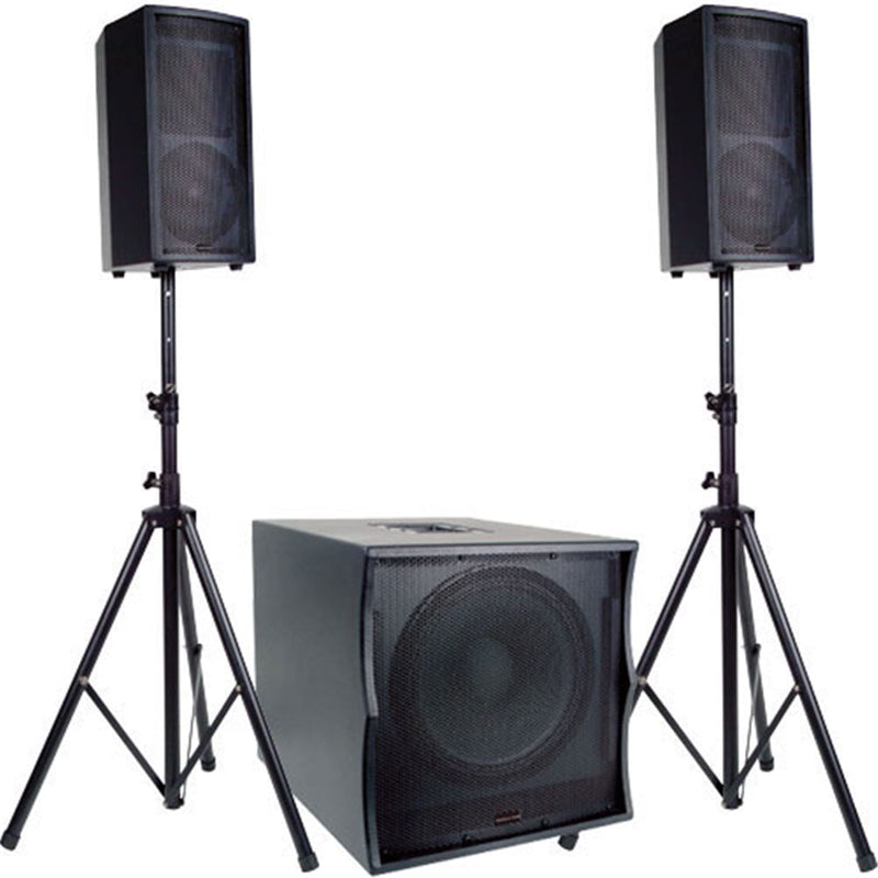 American Audio Tri Pack Ii Powered Speaker System - PSSL ProSound and Stage Lighting