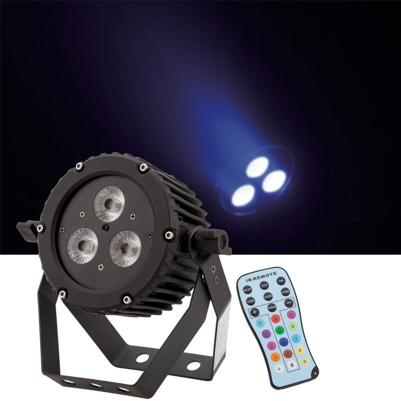 Epsilon TrimPar 3VR RGBWA LED Par Light with Remote - PSSL ProSound and Stage Lighting