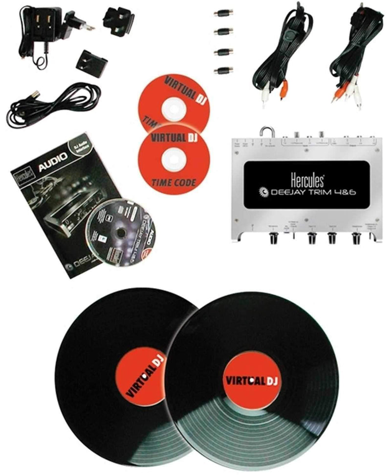Hercules DeeJay Trim 4&6 Starter Scratch Kit - PSSL ProSound and Stage Lighting