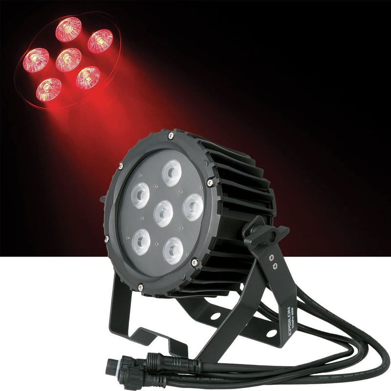 Epsilon TrimPar 6VIP 6x10W RGBWA IP65 LED Par Light - PSSL ProSound and Stage Lighting