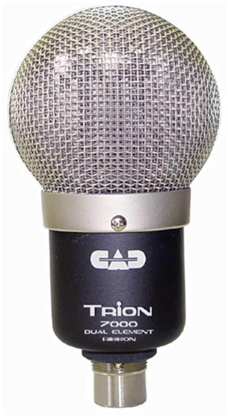 CAD TRION-7000 Dual Element Ribbon Mic - PSSL ProSound and Stage Lighting