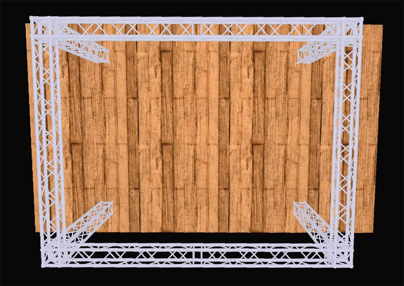 Global Truss 10 Foot x 20 Foot Complete Display System - PSSL ProSound and Stage Lighting