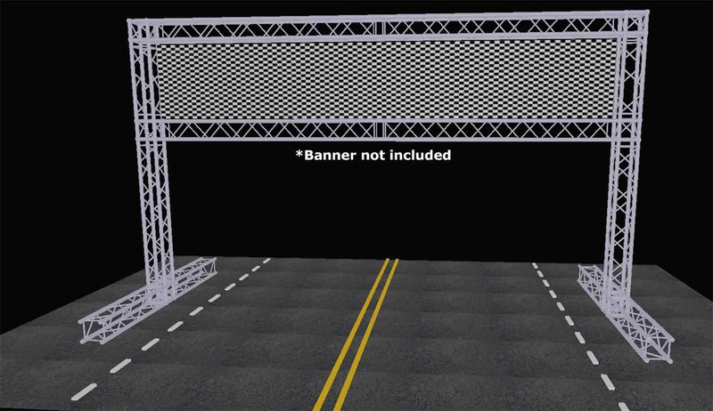Global Truss 22 Foot x 13 Foot F34 Finish Line Structure - PSSL ProSound and Stage Lighting