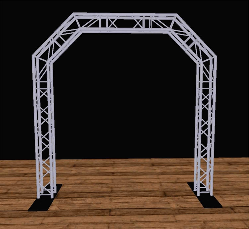 Global Truss 10 Ft x10 Ft F34 Truss Archway - PSSL ProSound and Stage Lighting