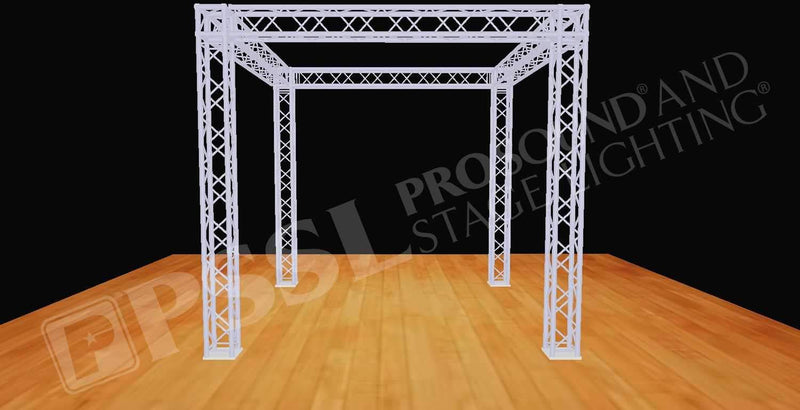 Global Truss 10 Ft x 10 Ft F34 Truss Display Booth System - PSSL ProSound and Stage Lighting