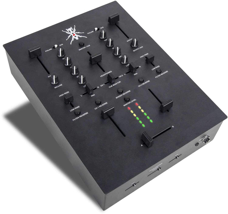 DJ Tech TRX Thud Rumble DJ Mixer with Innofader - PSSL ProSound and Stage Lighting