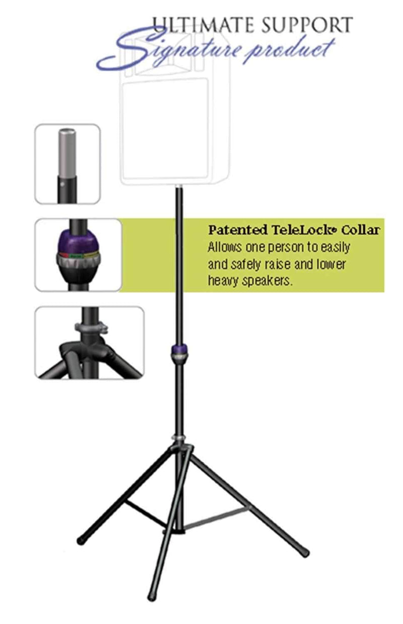 Ultimate TS99BL 9.2ft Speaker Light Stand with Level - PSSL ProSound and Stage Lighting