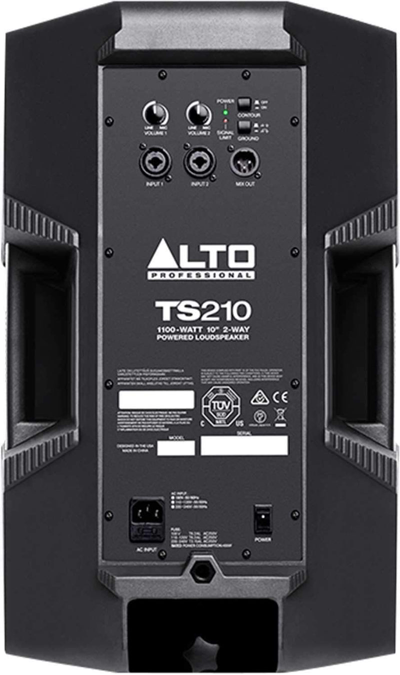 Alto TS210 10-Inch 2-Way Powered Speaker - PSSL ProSound and Stage Lighting