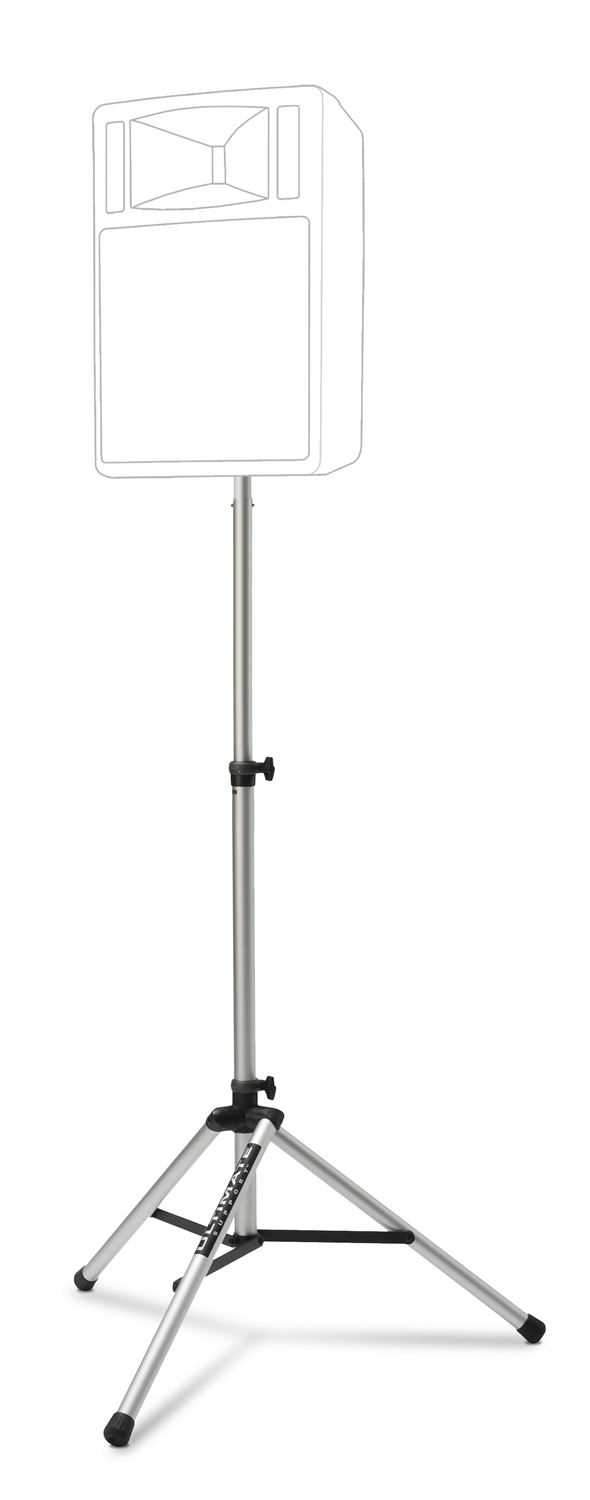 Ultimate TS80SP Pair Silver Pro Speaker Stands - PSSL ProSound and Stage Lighting