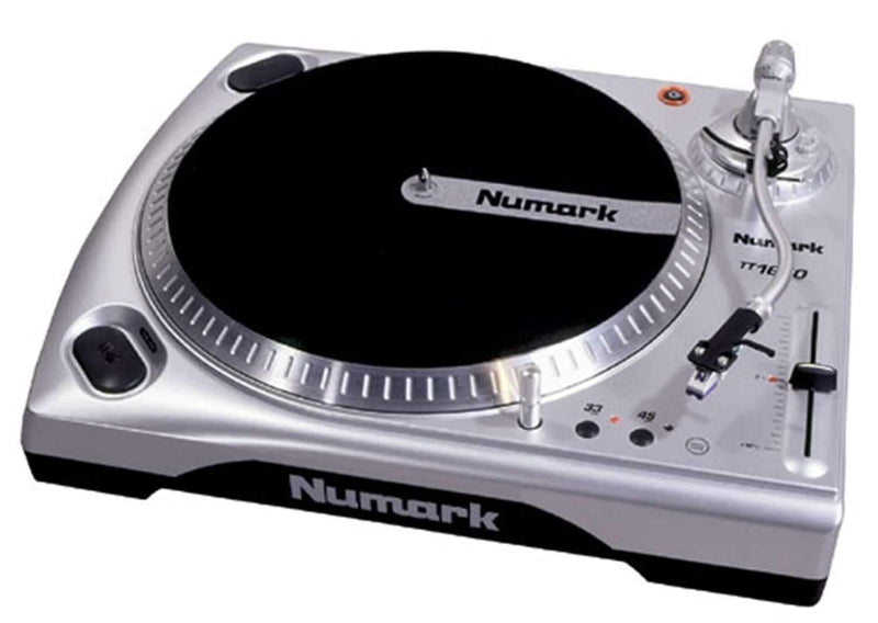 Numark TT1650 Direct Drive Turntable - PSSL ProSound and Stage Lighting