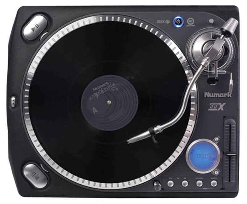Numark TTX USB Direct Drive DJ Turntable - PSSL ProSound and Stage Lighting