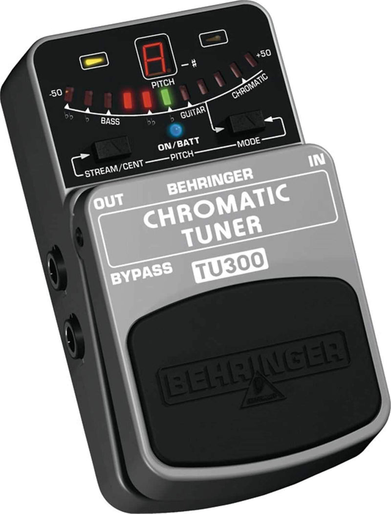 Behringer TU300 Ultimate Guitar / Bass Tuner - PSSL ProSound and Stage Lighting