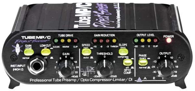 ART TubeMP/C Tube Preamp & Opto Compressor Limiter - PSSL ProSound and Stage Lighting