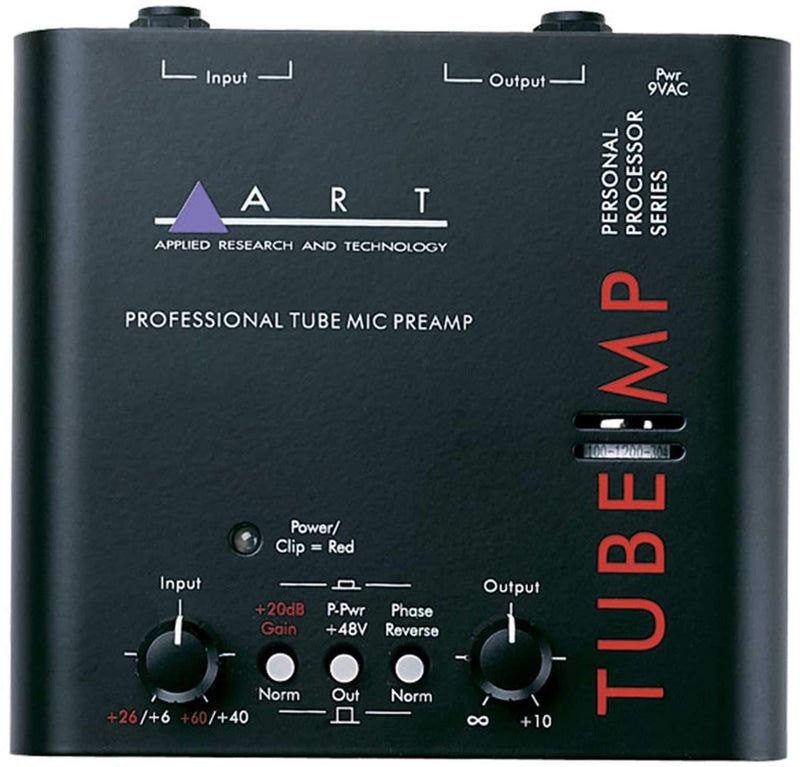 ART Tube MP Tube Mic Preamp with 48V Phantom Power - PSSL ProSound and Stage Lighting