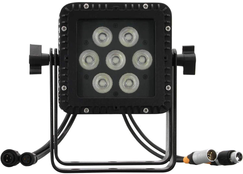 Mega Lite Tuff Baby P-84 7x12W RGBAW IP-64 Rated LED Wash Light - PSSL ProSound and Stage Lighting